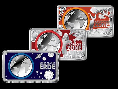 5 Euro Tropische Zone Neuheiten Mdm Deutsche Münze