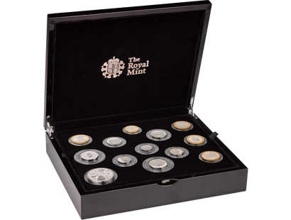 The Royal Mint 2019 Silver Proof Coin Set