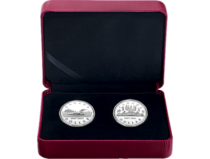 30th Anniversary of the Loonie Fine Silver 2 Coin Set