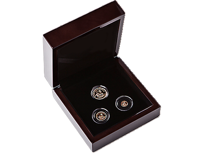Krugerrand 2017 50th Anniversary 3-Piece Mini Set