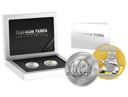 Platin-Panda Jubiläums Set