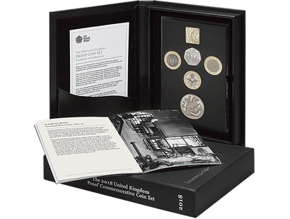 2018 Commemorative Proof Coin Set