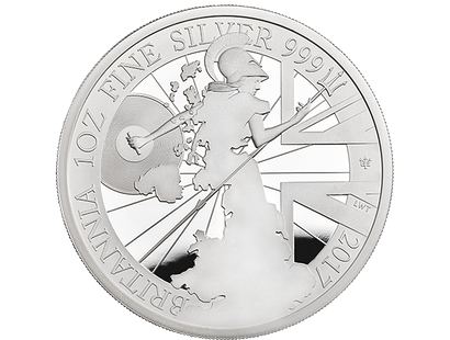 Britannia 2017 1oz Silver Proof Coin