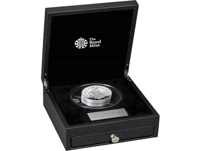 The Queen's Beasts - The Black Bull of Clarence 2018 £10 10oz Silver Proof Coin