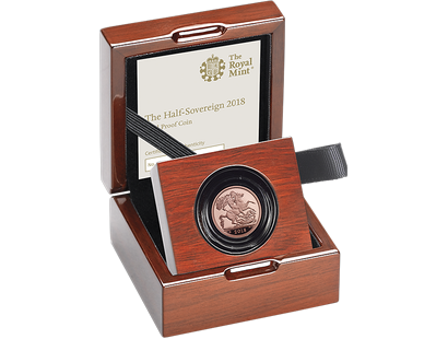 The Royal Mint's Half-Sovereign 2018