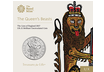 The Royal Mint Queen's Beasts - The Lion of England £5 Brilliant Uncirculated Coin