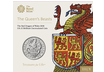 The Queen's Beasts - The Red Dragon of Wales 2018 £5 Brilliant Uncirculated Coin