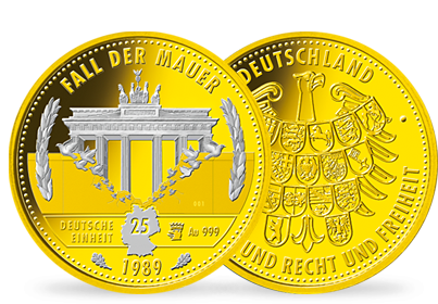 "Gold-Barrenmünze - ""Vatikan - Petersdom"""