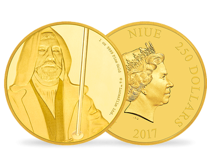 Star Wars Classic - Obi Wan Kenobi 1oz Gold Coin