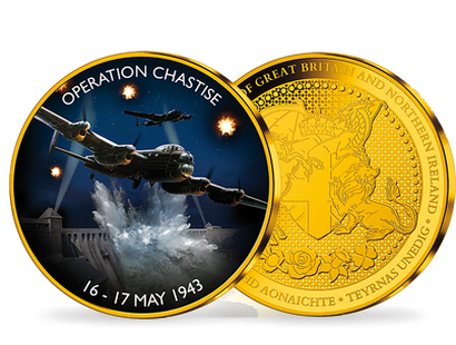 Operation Chastise 16-17 May 1943 Gold Plated Commemorative