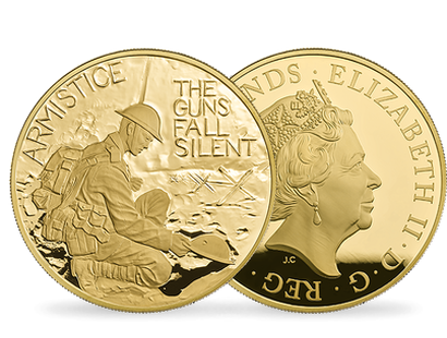 100th Anniversary of the First World War Armistice 2018 Five-Ounce Gold Proof £10 Coin