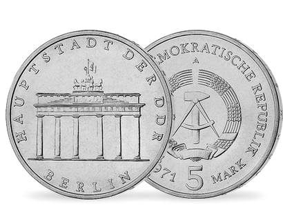 Ddr Gedenkmünzen Als Beliebtes Geschenk Mdm Deutsche Münze