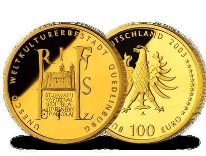 100 Euro Goldmünzen Online Kaufen Mdm Deutsche Münze