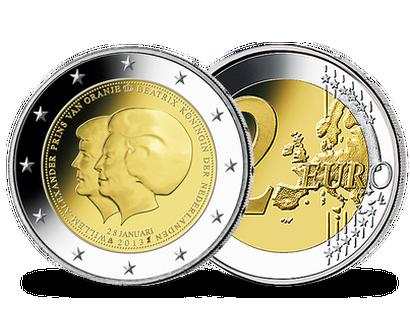 2 Euro Münzen Niederlande Günstig Kaufen Mdm Deutsche Münze