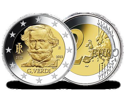 2 Euro Münzen Italien Günstig Kaufen Mdm Deutsche Münze