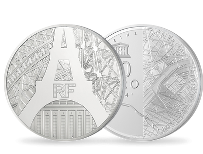 France Unesco 10€ Rives de Seine