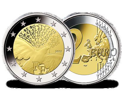 2 Euro Münzen Frankreich Günstig Kaufen Mdm Deutsche Münze
