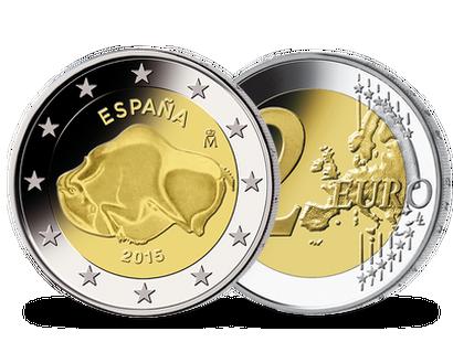 2 Euro Münzen Spanien Günstig Kaufen Mdm Deutsche Münze