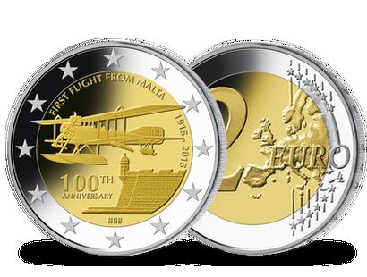 2 Euro Münzen Malta Günstig Kaufen Mdm Deutsche Münze