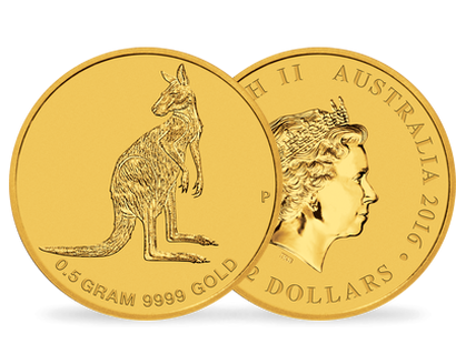 Mini Roo 2016 0.5g Pure Gold Coin