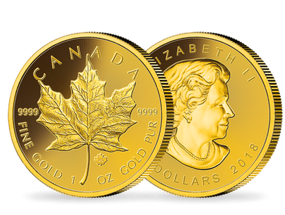 1 Unze Gold Maple Leaf - Kanada