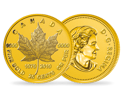 "Monnaie officielle ""Feuille d'Erable Or"" Canada 2019"