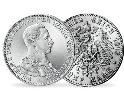 Silbermünzen Deutsches Kaiserreich Mdm Deutsche Münze