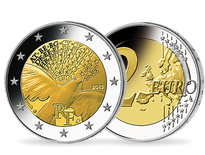 70 Years of Peace in Europe €2 Circulation Coin