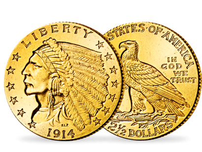 USA - 2 ½-Dollar-Goldmünze