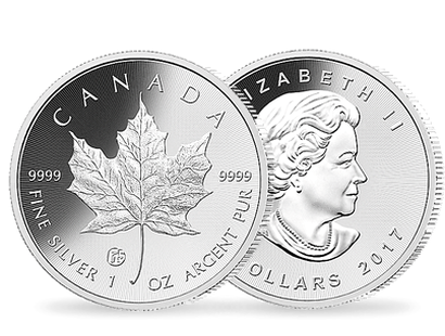 Canadian Maple Leaf 2017 $5 Silver Brilliant Uncirculated Coin