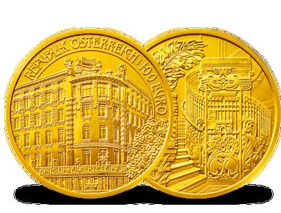 100 Euro Gold Münzen Aus österreich Imm Münz Institut