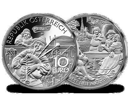 10 Euro Silber Münzen Aus österreich Imm Münz Institut