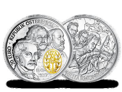 20 Euro Silber Münzen Aus österreich Imm Münz Institut