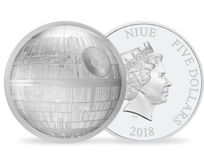 Star Wars - Death Star™2oz Ultra High Relief Silver Coin