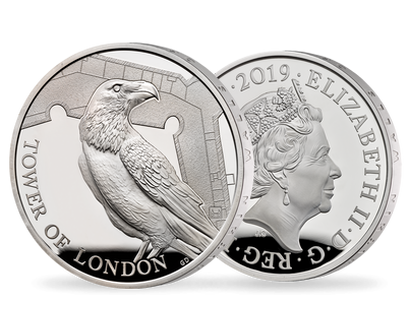 The Tower of London 2019 - The Legend of the Ravens Silver Proof Coin