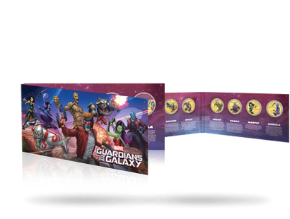 Guardians of the Galaxy Complete Pack - Gold