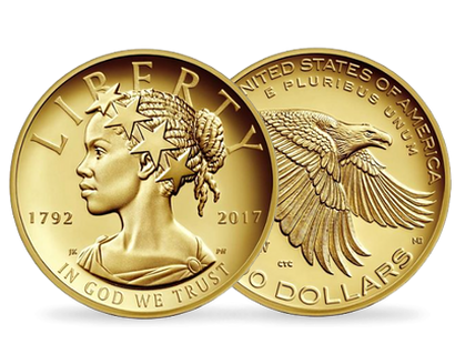 American Liberty 225th Anniversary 2017 $100 Pure Gold Coin