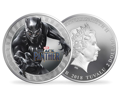 Marvel Black Panther 2018 1oz Silver Coin Brilliant Uncirculated