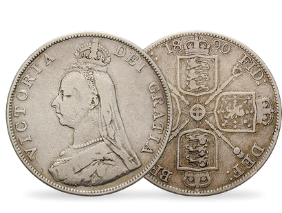 'Barmaid's Grief' Double Florin Coin
