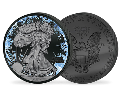 Walking Liberty - Deep Frozen Edition 2017 $1 Silver Coin