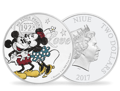 Disney Love - True Love Forever 2017 1oz Silver Coin