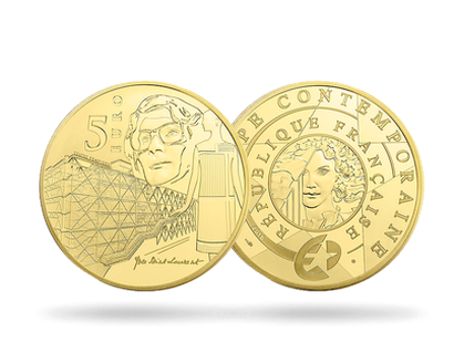 Europa Modern 20th Century 2016 €5 Gold Proof Coin