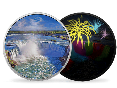 Fireworks at the Falls 2018 $30 Fine Silver Coin