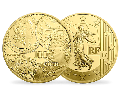 The Sower - The Louis d'Or 2017 €100 Gold Proof Coin