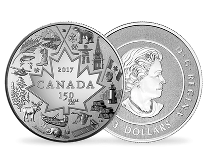Heart of Our Nation 2017 Pure Silver $3 Coin