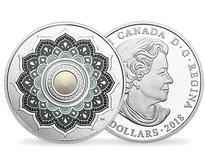 Birthstones - June 2018 $5 Silver Proof Coin with Swarovski® Crystal