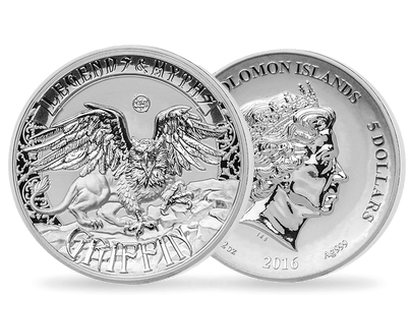 Legends & Myths - The Griffin 2oz Silver Coin