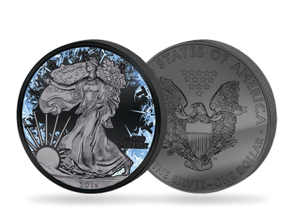 Monnaie de 1 Dollar en argent pur «Walking Liberty» édition Deep Frozen 2018
