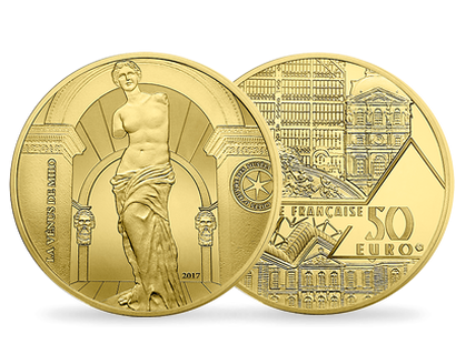 Museum Masterpieces - Venus de Milo 2017 1/4 oz €50 Gold Proof Coin