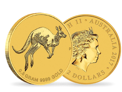 Mini Roo 2017 0.5g Pure Gold Coin